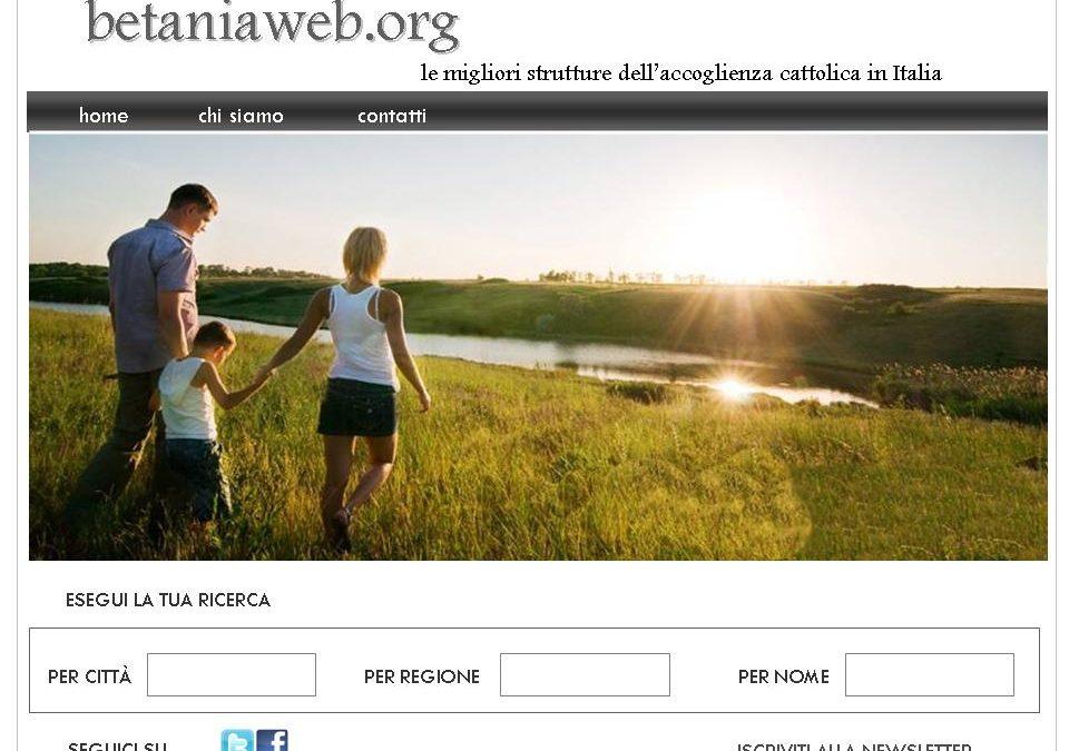 Aperto il portale betaniaweb.org