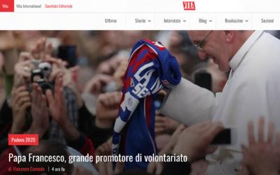 """Su """"Vita"""", un articolo sul nostro libro """"Il volontariato nel cuore di Papa Francesco"""""""