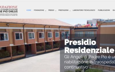 La Fondazione Centri di Riabilitazione Padre Pio Onlus ringrazia l'APS Camelia